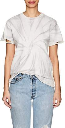 NSF Women's Moore Tie-Dyed Distressed T-Shirt
