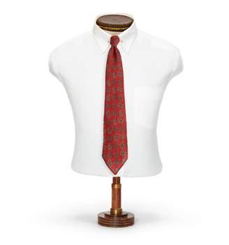 Ralph Lauren Handmade Pine-Print Wool Tie