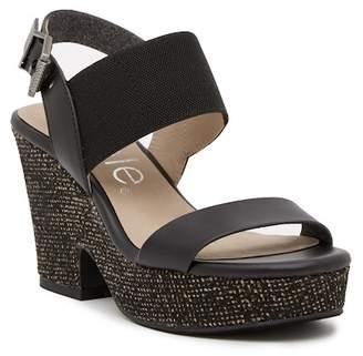 Nicole Mikela Platform Ankle Strap Sandal