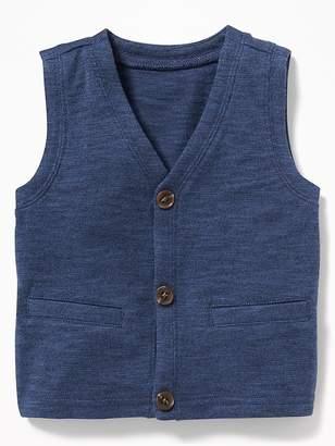 Old Navy V-Neck Button-Front Vest for Baby