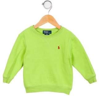 Ralph Lauren Boys' Long Sleeve Crew Neck Sweatshirt