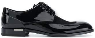 Versace varnished Derby shoes