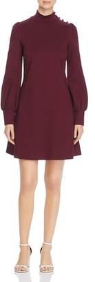 Kate Spade Mock-Neck Ponte Knit Dress