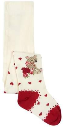 MonnaLisa KnittedBear Tights
