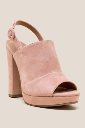 Report Lacey Platform Heel - Blush