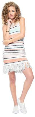 Juicy Couture Fringe Sweater Dress