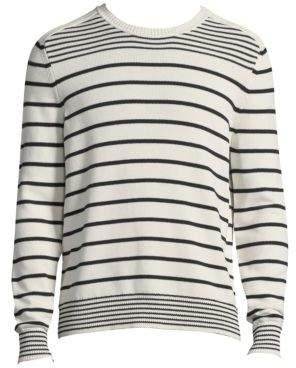 Vilebrequin Stripe Long-Sleeve Cotton Sweater