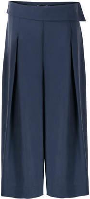 Oliver Bonas Humour Asymmetric Waist Blue Culottes