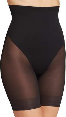 TC Fine Shapewear Sheer High-Waist Thigh Slimmer Shorts
