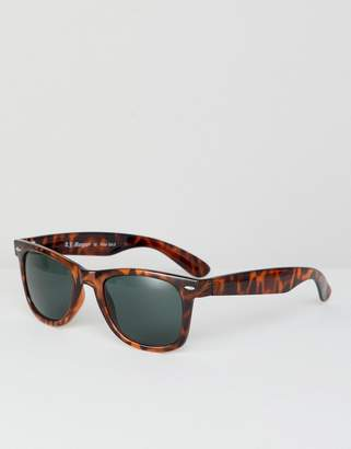 A. J. Morgan AJ Morgan square frame sunglasses in tort