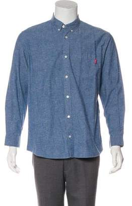 Supreme Chambray Casual Shirt