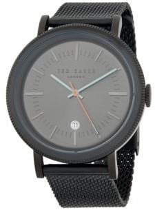 Ted Baker Classic Stainless Steel Mesh Bracelet Watch