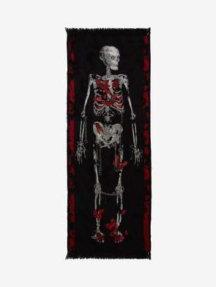 Alexander McQueen Adorned Skeleton Stole
