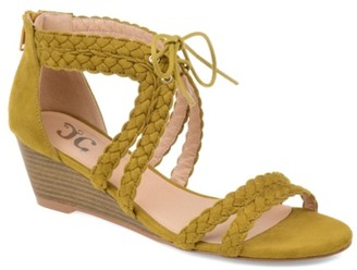 Journee Collection Aubree Wedge Sandal