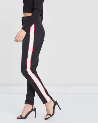 Missguided Crepe Cigarette Trousers