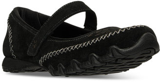 Skechers Women's Bikers - Involved Mary Jane Casual Sneakers from Finish Line $59.99 thestylecure.com