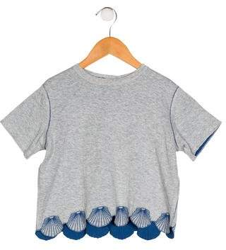 Stella McCartney Girls' Embroidered Knit Top w/ Tags