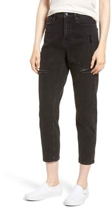 Vigoss High Waist Crop Mom Jeans