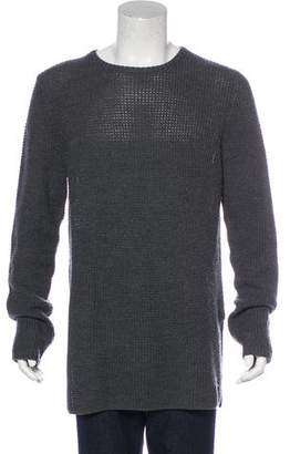 Nlst Wool Longline Sweater