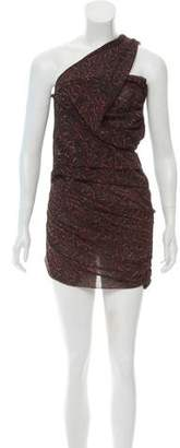 IRO One-Shoulder Mini Dress