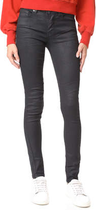 Blank Coated Skinny Jeans