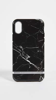 Richmond & Finch Black Marble iPhone X Case