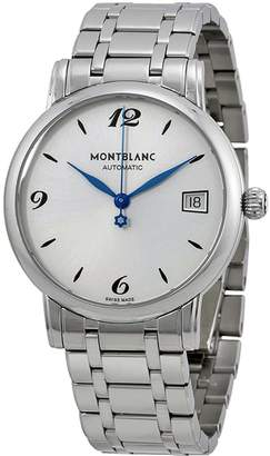 Montblanc Mont Blanc Women's Star Classique 111591 Silver Stainless-Steel Swiss Automatic Watch