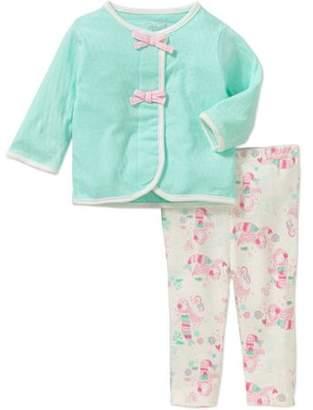 Rene Rofe Baby Newborn Baby Girl Cardigan Set