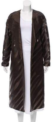 Akris Galileo Silk Coat w/ Tags