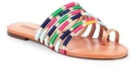 Schutz Carmem Toe Ring Sandals