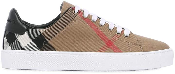 20mm Classic Check Canvas Sneakers