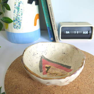 Baked by Lou Original Ceramic Trinket Dish