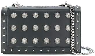 Balmain Love button embellished shoulder bag