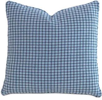 "Eastern Accents Watermill Indigo Decorative Pillow, 22""Sq."