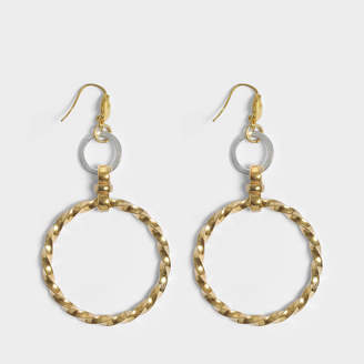 Aris Geldis Assymetrical Circular earrings