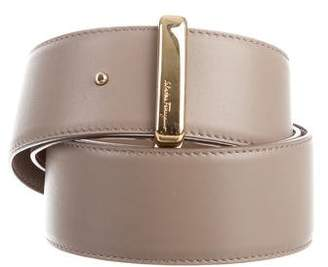Salvatore Ferragamo Leather Buckle Belt