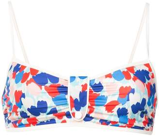 Morgan Lane tulip print Mica bikini top