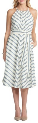 Women's Eci Chevron Midi Dress $88 thestylecure.com