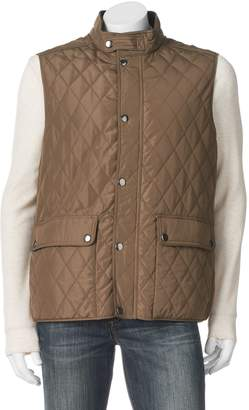 London Fog Tower By Men's Tower by Diamond Quilted Vest