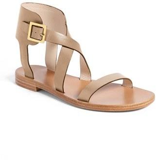 Chloé 'Daabh' Flat Ankle Cuff Sandal
