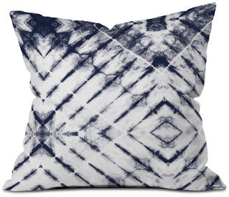 Deny Designs Little Arrow Design Co Shibori Tie-Dyed Throw Pillow