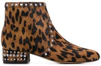 Sam Edelman leopard print boots