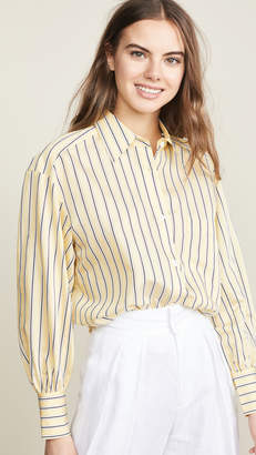 Edition10 Striped Button Down Shirt