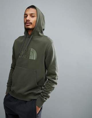 The North Face Drew Peak Pullover Hoodie In Green