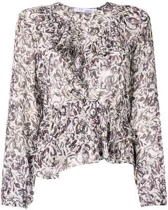 IRO printed blouse