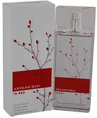Armand Basi in Red by Eau De Toilette Spray 3.4 oz