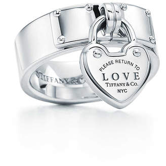 Tiffany & Co. Return to TiffanyTM Love lock ring