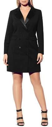 City Chic Plus Tuxedo Dress