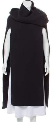 Calvin Klein Collection Cashmere & Wool Poncho w/ Tags