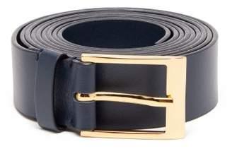 Roksanda Double Wrap Leather Belt - Womens - Navy